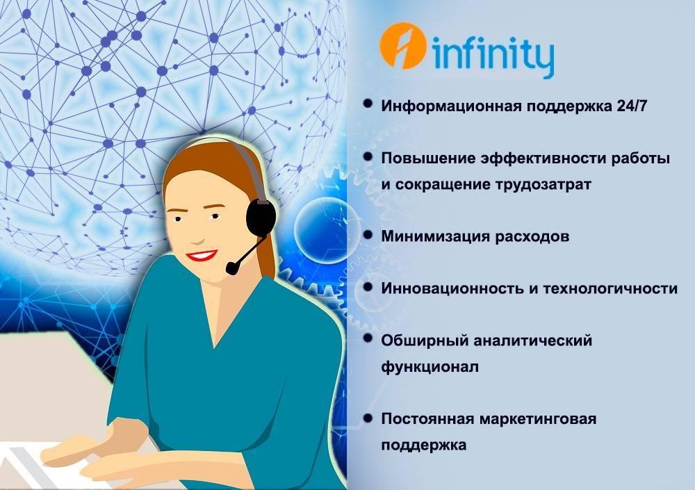 Аутсорсинговый контакт-центр на базе программного комплекса Infinity